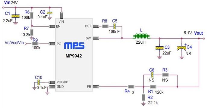 DC DC Designer Online - MP9942